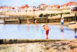 Boy fishing at Southend