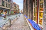 Brugge street scene