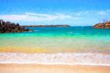 Little beach nr Fingal