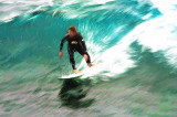 Surfer at Avalon Beach