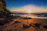 Bungan Beach sunrise