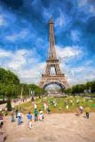 Paris with Eiffel Tower