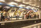Metro at Anvers, Paris