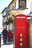 Leigh on Sea with red telephone box