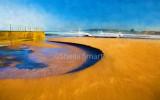 Narrabeen Lagoon with dunes