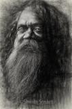 Cedric, aboriginal busker