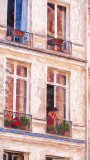 Woman in apartment in Paris