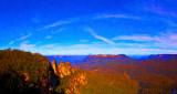 Three Sisters panorama