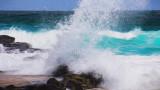 Crashing waves at Manyana