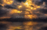 Byron Bay sunset - a Turneresque treatment