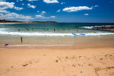 Dee Why Beach with people