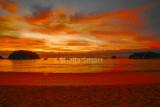 Kaiteriteri beach at sunrise