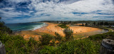 Narrabeen Beach panorama