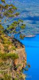 Lake Burragorang pan vertical