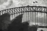 Sydney Harbour with Bridge backdrop