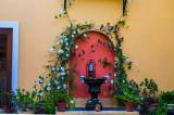 Casa Bella courtyard