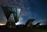 Sky over solar farm
