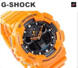CASIO G-SHOCK MAGNETIC RESISTANT GA-100A GA-100A-9A YELLOW