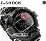 CASIO G-SHOCK NEW FRONT BUTTON DESIGN G-8900SH G-8900SH-1 BLACK SHOCK RESISTANT