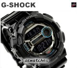 CASIO G-SHOCK DIGITAL GD-110 GD-110-1 7 YEAR BATTERY DUAL TIME STOCK RESISTANT
