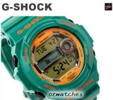 CASIO G-SHOCK G-LIDE MOON PHASE GLX-150 GLX-150B-3 GREEN SUPER LED BACKLIGHT
