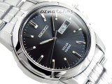 SEIKO MEN SOLAR POWER 100M WR SNE093P SNE093P1 V158 JAPAN MOVEMENT