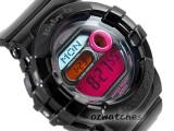 CASIO BABY-G ANALOG DIGITAL BGD-140 BGD-140-1B COLOR DISPLAY STOCK RESISTANT