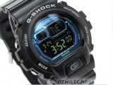 CASIO G-SHOCK 2ND GENERATION BLUETOOTH to iPHONE5S/5C / NOTE3 GB-6900B-1B GB-6900B-1BDR BLACK x BLUE with MUSIC CONTROL