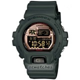 CASIO G-SHOCK 2ND GENERATION BLUETOOTH to iPHONE5S/5C / NOTE3 GB-6900B-3 GB-6900B-3DR GREEN with MUSIC CONTROL