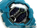 CASIO G-SHOCK DIGITAL GD-110 GD-110-2 7 YEAR BATTERY DUAL TIME STOCK RESISTANT