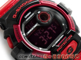 CASIO G-SHOCK NEW FRONT BUTTON G-8900SC G-8900SC-1R SHOCK RESISTANT BLACK & RED