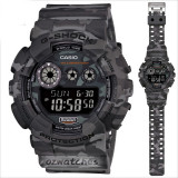 CASIO G-SHOCK GD-120CM GD-120CM-8 WOODLAND CAMOUFLAGE PATTERN STOCK RESISTANT