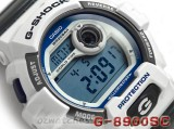 CASIO G-SHOCK NEW FRONT BUTTON G-8900SC G-8900SC-7 SHOCK RESISTANT WHITE GREY
