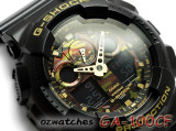2015 CASIO G-SHOCK 35MM BOLD FACE GA-100CF-1A9 GA-100CF-1A9DR CAMOUFLAGE DIAL