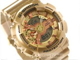 CASIO G-SHOCK S SERIES COMPACT SIZE GMA-S110GD-4A1 GMA-S110GD-4A1DR GOLD / PINK