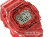 CASIO G-SHOCK G-LIDE TIDE GRAPH MOON PHASE GLX-5600F-4 GLX-5600F-4DR RED VINTAGE FLOWER PATTERN