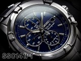Shop SEIKO SOLAR CHRONOGRAPH MENS WATCH SSC141P1 SSC141 BLUE DIAL at ozDigitalWatch.com