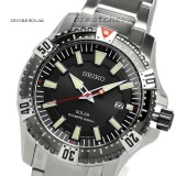 Shop Australia Online - SEIKO MEN SOLAR DIVERS WATCH 200M SNE295P1 BLACK ION PLATING at ozDigitalWatch.com
