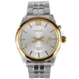 Shop Australia Online SEIKO KINETIC MENS WATCH SKA574 SKA574P1 SILVER x GOLD TONE at ozDigitalWatch.com