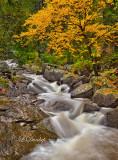 10.1 - Duluth: Tischer Creek Narrow Cascade, Autumn