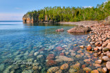 ** 51.2 - Lake Superior:  Beach Showing Underwater Rocks