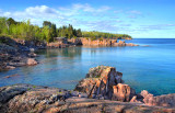 ** 115.5 - Silver Bay:  2012 Calendar Cover, Lake Superior Magazine