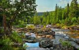 116 - Beaver River:  Glen Avon Falls, Looking Downstream