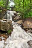 12.7 - Duluth Parks: Foggy Morning at Miller Creek, Upper Falls