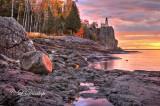 30.3 - Split Rock Lighthouse:  Sunrise Shore (HDR), Oct. 1st
