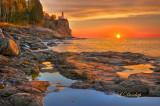 30.41 - Split Rock Lighthouse: Sunrise Calm (HDR)