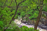 12.14 - Duluth Parks:  Chester Creek With Footbridge