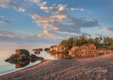 113.12 - Silver Bay:  Red Beach, Early Morning