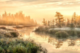 105.7 - Leskinen Lake: Frosty Dawn, With Mist