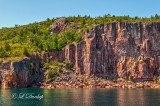 49.31 - Tettegouche Area:  Palisade Cliff Seen From The Lake